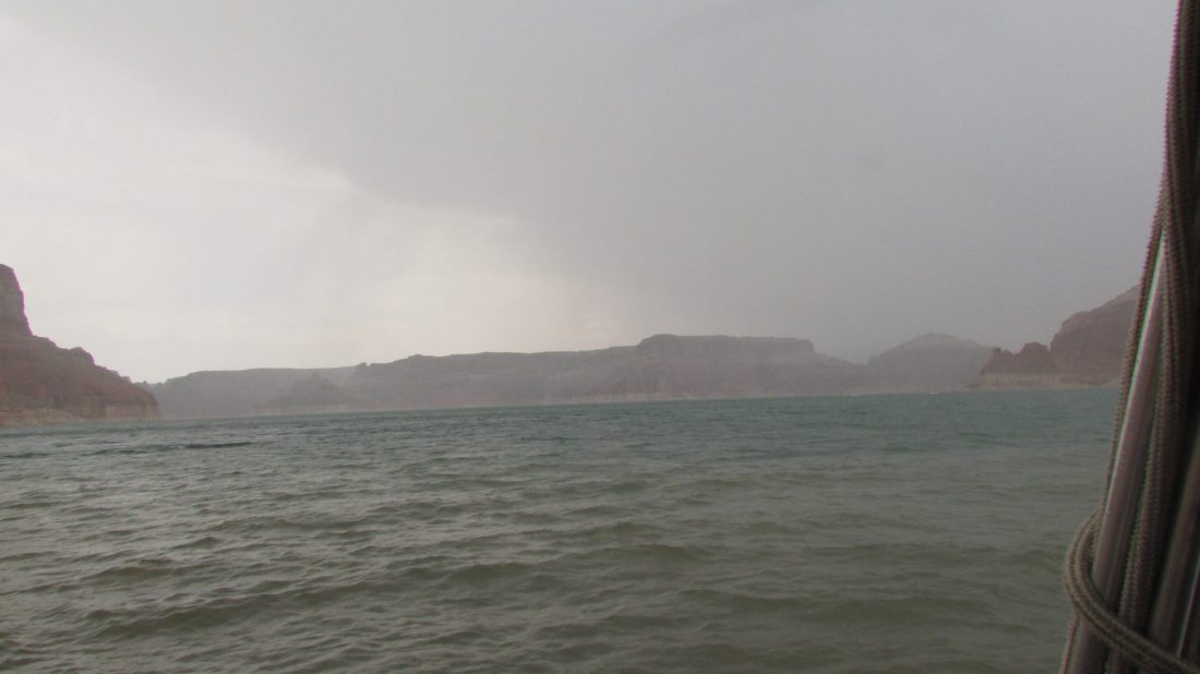 Lake Powell Stormy